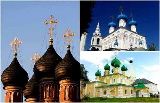 Каждый цвет - особый смысл. /Фото: pikabu.ru, tripadvisor.com, homsk.com