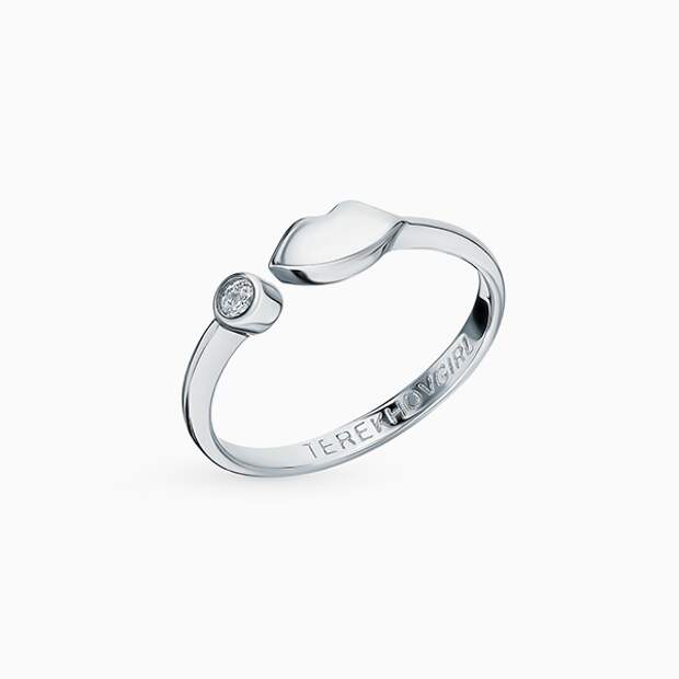 Кольцо Sokolov, серебро, фианит