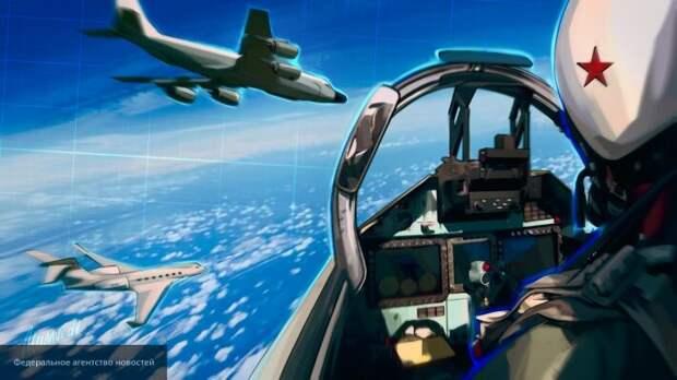 Баранец об инциденте B-52 и Су-27: два сокола показали НАТО кузькину мать