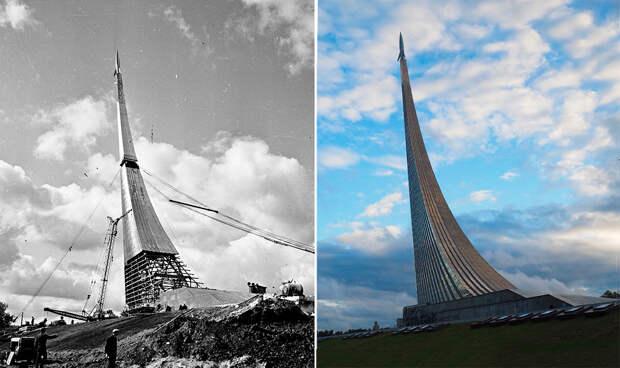 До и после: как изменилась Москва за последние 150 лет