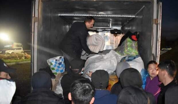 Жители Башкирии доставили гуманитарную помощь застрявшим награнице мигрантам
