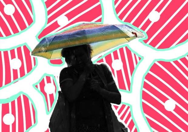 Как самостоятельно отремонтировать зонтик