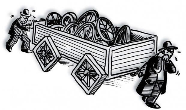 Машина с квадратными колёсами или «кадры решают не всё»  (мнение)