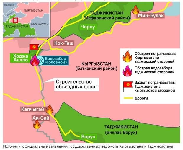 Киргизия и Таджикистан. 30.04.2021