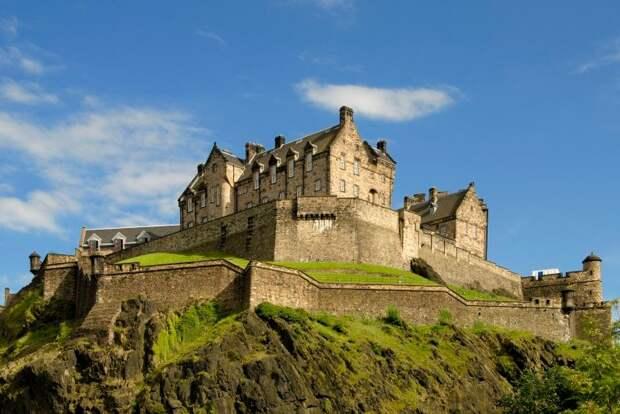 Эдинбургский замок Rough Guide, голосование, канада, конкурс, куда поехать, опрос, самые красивые страны, шотландия