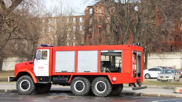 МЧС Петербурга объявило о ликвидации пожара на Невской мануфактуре