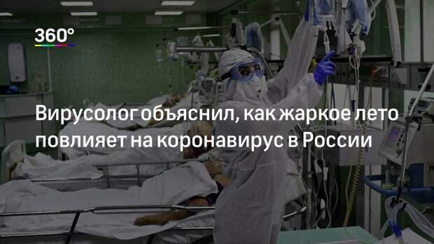 Вирусолог объяснил, как жаркое лето повлияет на коронавирус в России