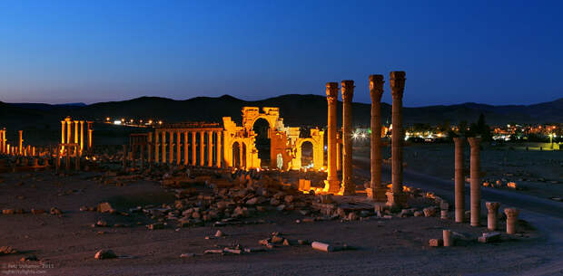 Пальмира — древний город в пустыне (25 фото + видео концерта Валерия Гергиева)