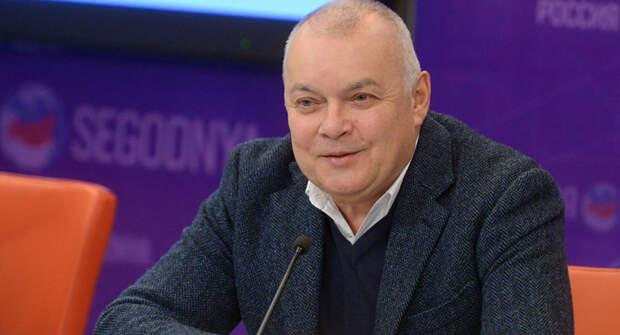 Дмитрий Киселев призвал ограничить свободу слова в России