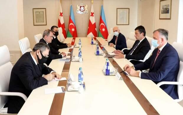 Грузия и Азербайджан заявили об усилении стратегического партнерства