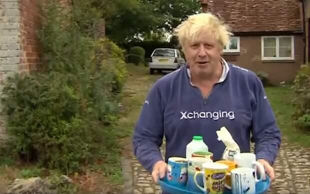 Борис Джонсон «согрешил» с заваркой чая