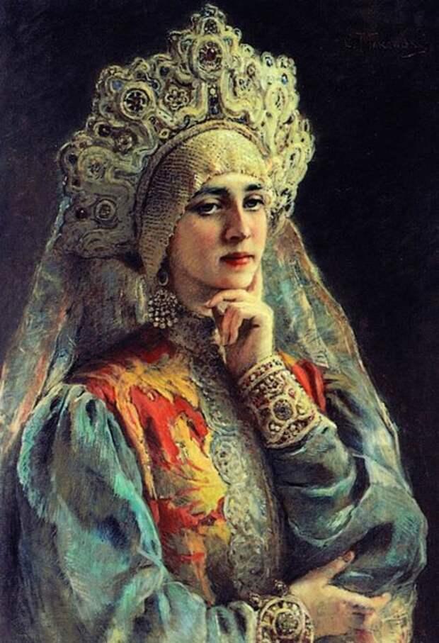 Русская красавица, 1900-е