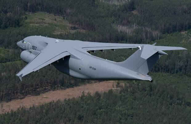В Перу украинский самолет Ан-178 назвали невидимкой