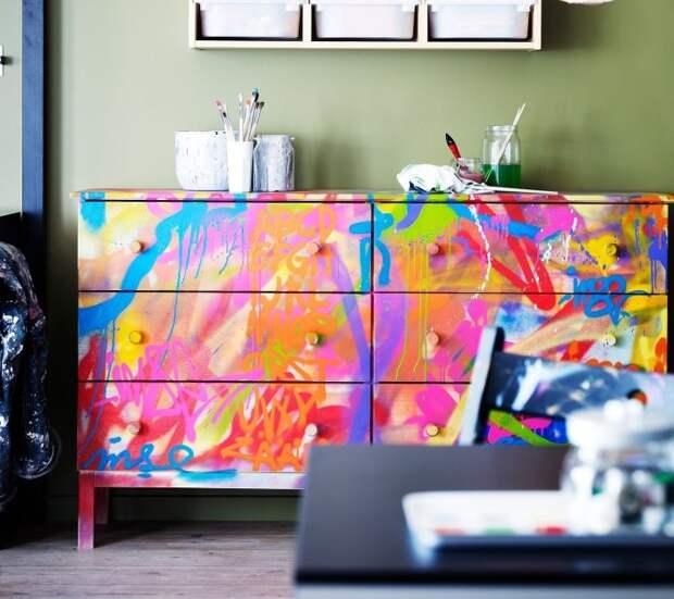 Идеи, как сделать старую мебель лучше любой новой