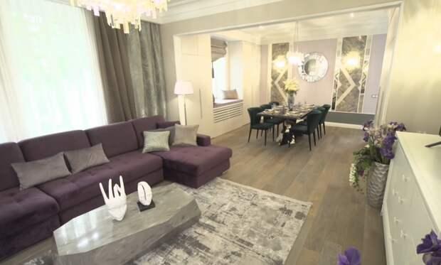 «Просто роскошно»: «Идеальный ремонт» поработал с квартирой Николая Добрынина