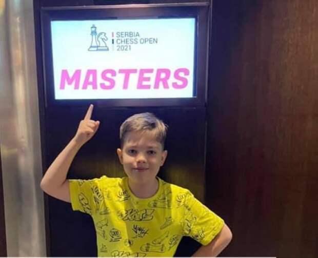 Младешклассник из Хорошевки стал призером Международного турнира по шахматам