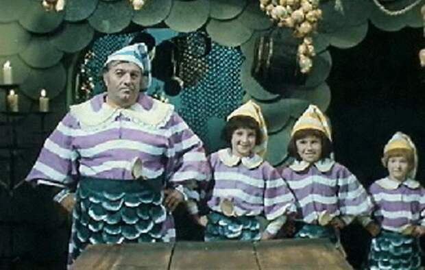 Хозяин харчевни - Приключения Буратино (1975)