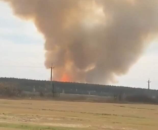На территории бывшей воинской части в Рязанской области взорвались снаряды