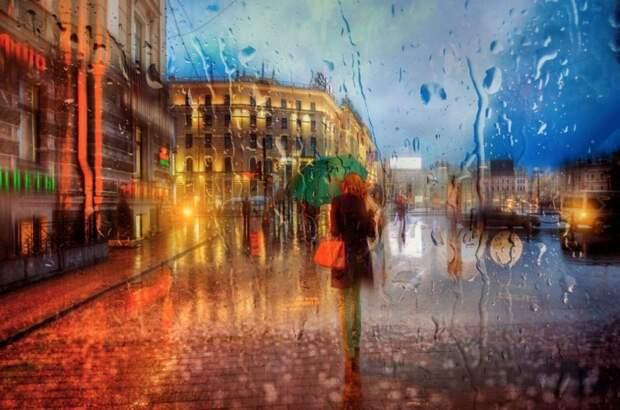 10 фотографий дождя от питерского фотографа