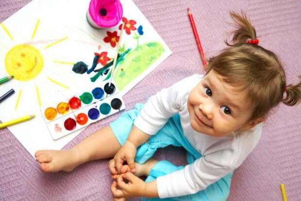 Вхраме святой блаженной Ксении Петербургской организуют занятия по детскому творчеству