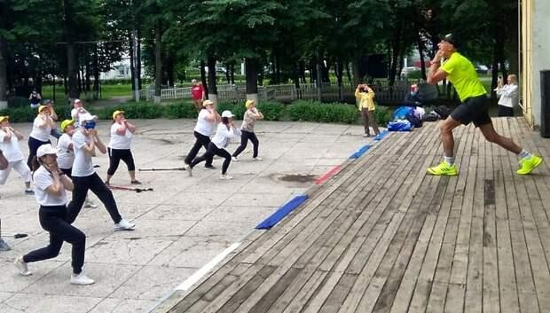 Бесплатное занятие по скандинавской ходьбе пройдет в Подольске 23 июня