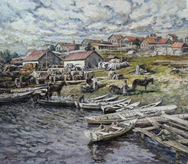 Живопись Андрея Солдатенко