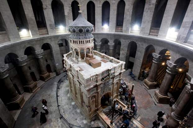 Отреставрированная Часовня Гроба Господнего, современный вид. /Фото: vesty.co.il