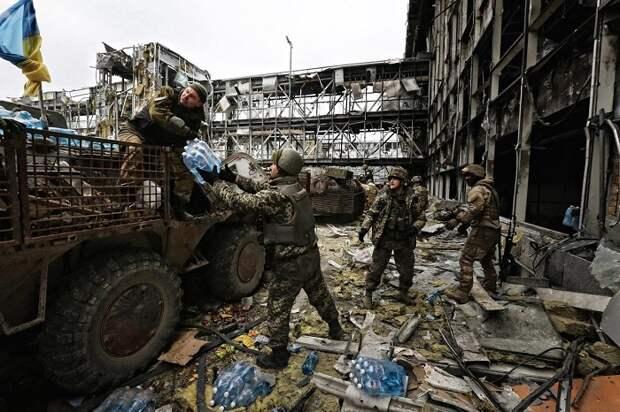 В Киеве рассказали, почему солдат ВСУ не вывели из донецкого аэропорта вопреки договорённостям