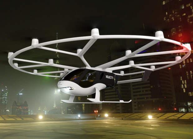 Volocopter представила серийную версию городского аэротакси