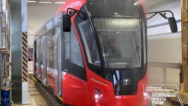 Первая партия новых трамваев отправляется в Ижевск на этой неделе