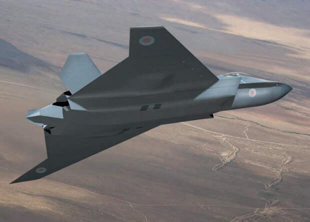 Британцы показали макет собственного истребителя будущего