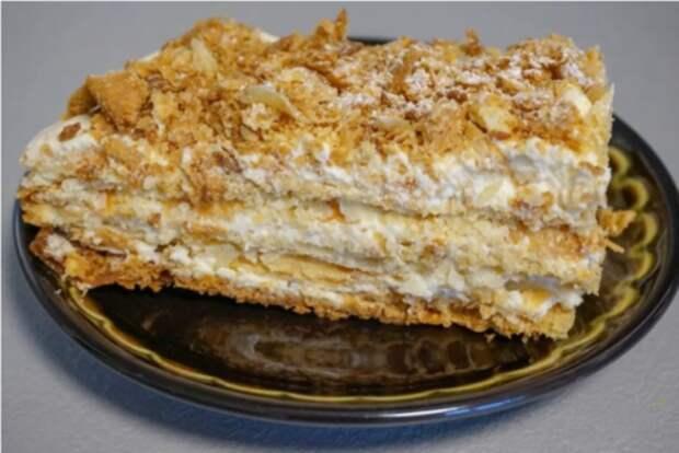 Рецепт вкусного и простого торта без выпечки
