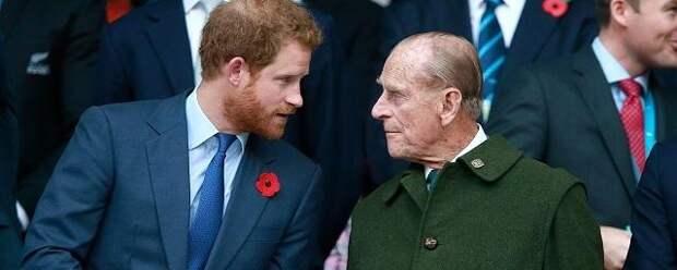 Принц Гарри возвращается в Лондон после новости о смерти деда