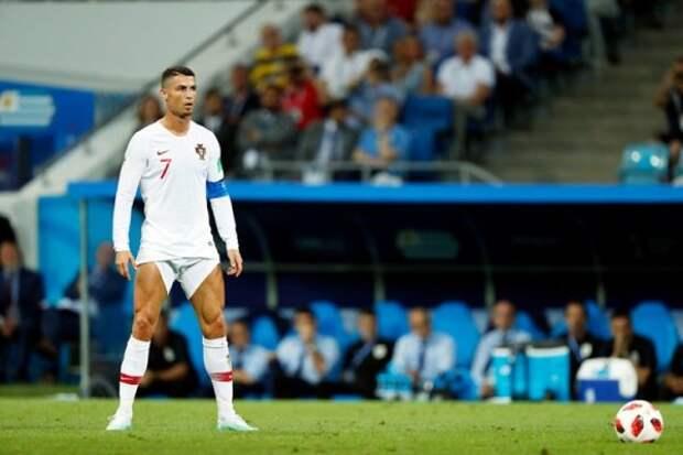 В Сети высмеяли Роналду за голые ноги