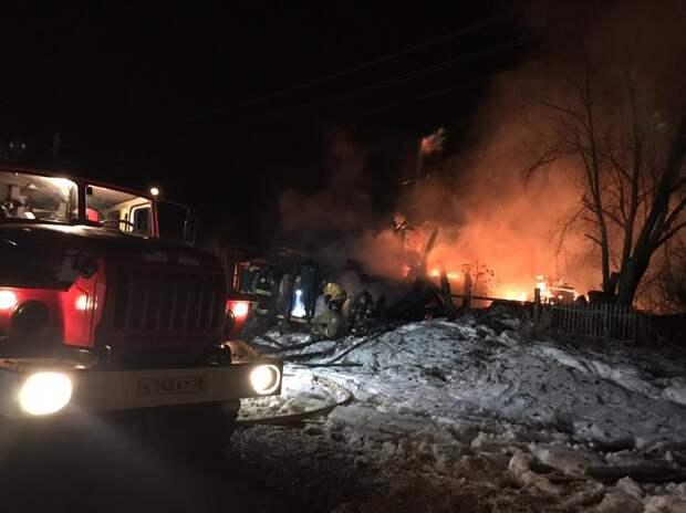 Курение могло стать причиной гибели четырёх человек при пожаре в Удмуртии