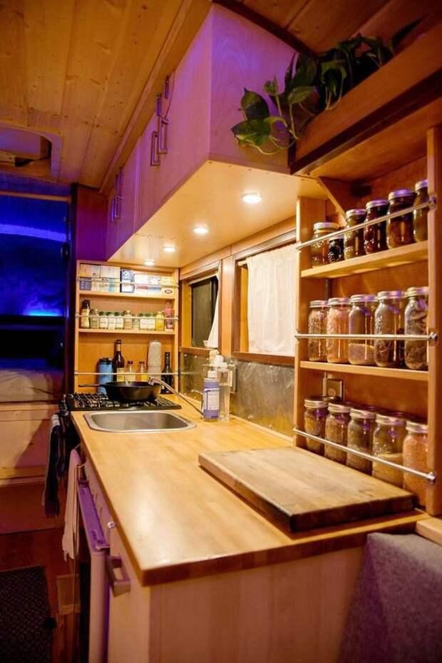 Самодельный дом на колесах, который работает на растительном масле авто, автобус, биодизель, дом, дом на колесах, кемпер, самоделка, своими руками