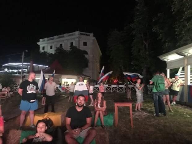 Лучшая и городская фан-зоны в Севастополе!