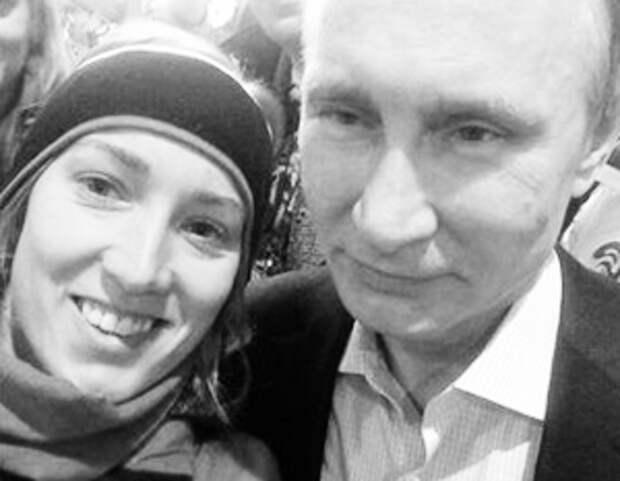 Канадскую конькобежку раскритиковали на родине за фото с Путиным