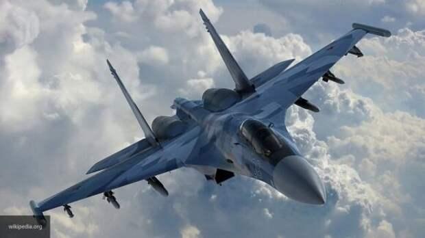Учебный бой между Су-30МКИ и F-18D ВВС Малайзии запечатлели на видео