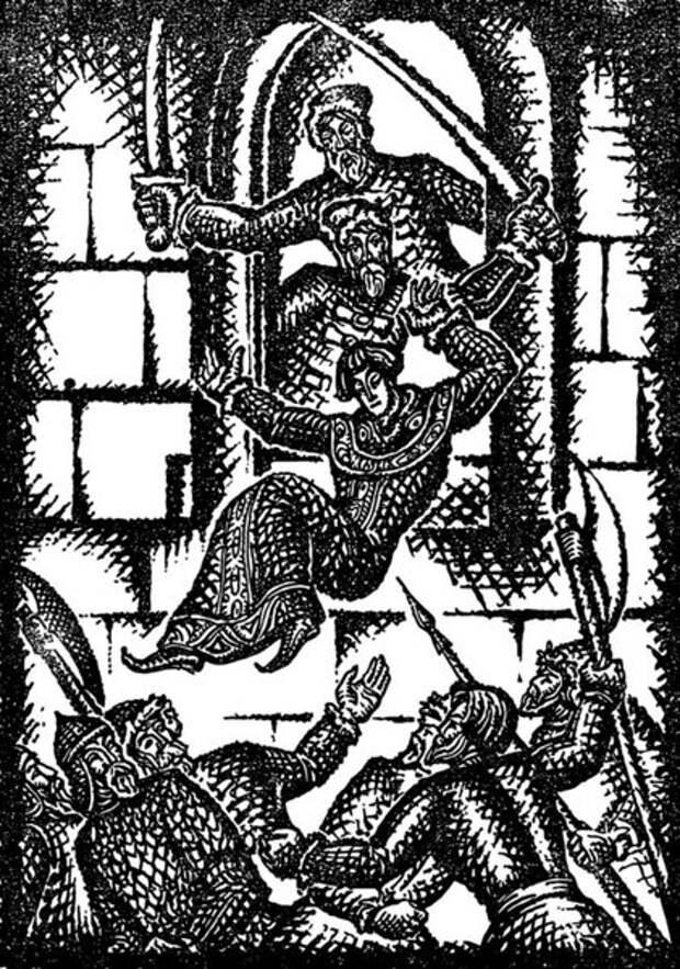 Картины про убийство Лжедмитрия