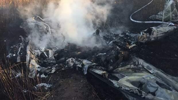 Два человека погибли при крушении самолета Cessna в Подмосковье