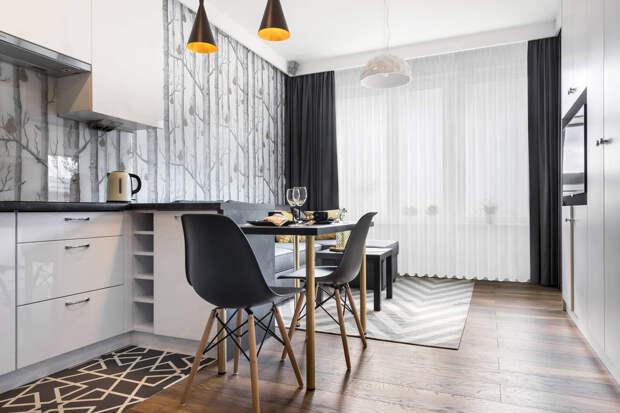 Как искусно оформить гостиную с обеденной зоной 20м2?