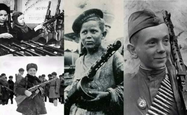 Почему подростки рвались на фронт и За какие заслуги получали звание Героя Советского Союза
