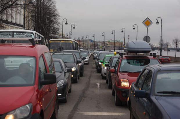 В ГИБДД посчитали российский автопарк