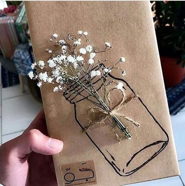 Упаковка подарков ... с вазами