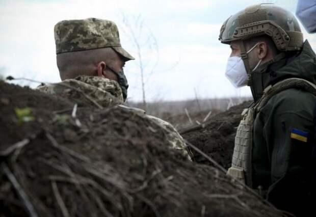 Зеленский рассказал, когда Украина прекратит обстреливать Донбасс