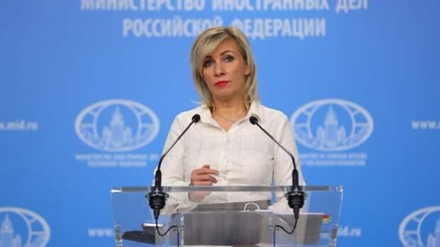 """Захарова предупредила Чехию после задержания участника """"Крымской весны"""""""