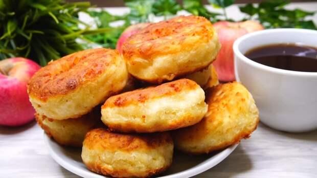Сырные пышки Рецепт, Завтрак, Видео рецепт, Сырники, Видео