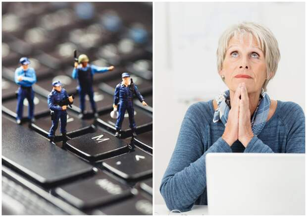Памятка для бабушки: как точно распознать киберпреступника