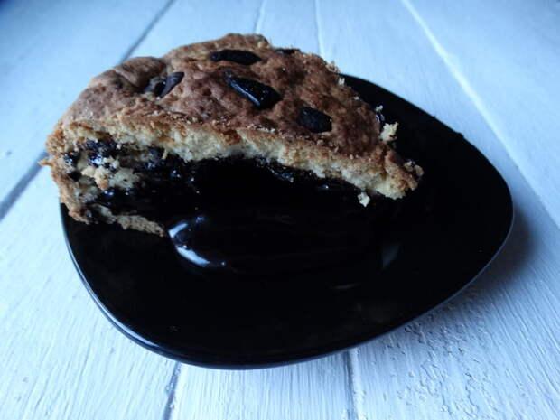Торт с правильной шоколадной начинкой
